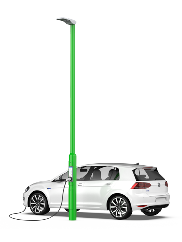 Rolec EV:StreetCharge for workplace or street charger installation