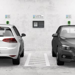 Rolec EV:ControlCentre for workplace charger installation
